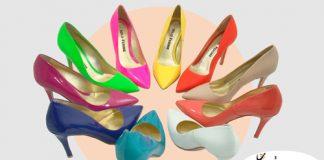 Kolorowe szpilki | Solo Femme na sezon wiosna/ lato 2013