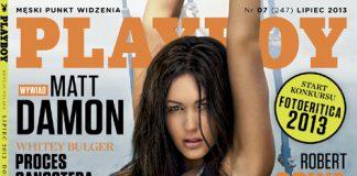 W lipcowym Playboyu - Na okładce Playmate Roku - Anna Kołeczko 1