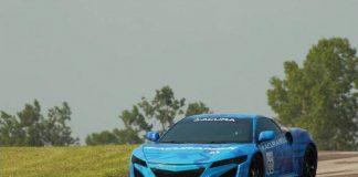 NSX na torze Mid-Ohio Raceway