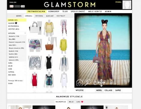 Shopping Stylizacje  GLAMSTORM.com – nowatorski stylista on-line