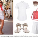 Stylizacje  Wakacyjny look w stylu Saint Tropez