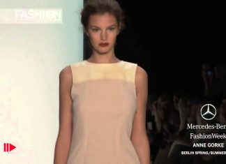 """ANNE GORKE"" Berlin Fashion Week Wiosna/Lato  2014"