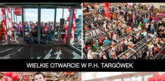 Otwarcie TK Maxx w P.H. Targówek, Warszawa