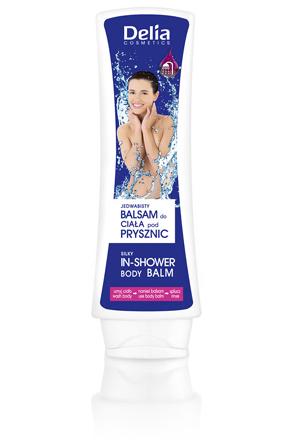 Uroda  NOWOŚĆ – jedwabisty balsam do ciała pod prysznic Delia Cosmetics