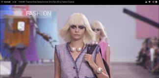 """CHANEL"" Fashion Show Wiosna/Lato  2014 Paris"
