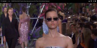 """CHRISTIAN DIOR"" Fashion Show Wiosna/Lato  2014 Paris"
