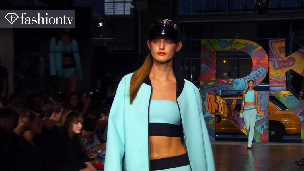 DKNY Wiosna/Lato 2014 ft Rita Ora, Karlie Kloss  New York Fashion Week