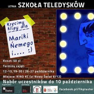 Wydarzenia  Zostań twórcą i nakręć teledysk Marice i innym gwiazdom!