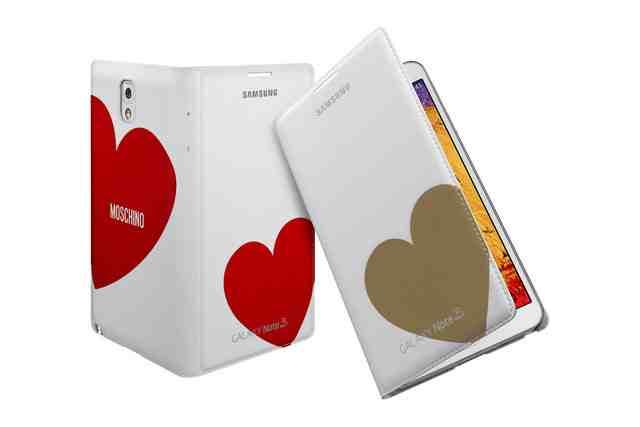 MOSCHINO stylizuje akcesoria do Samsung GALAXY Note 3 2