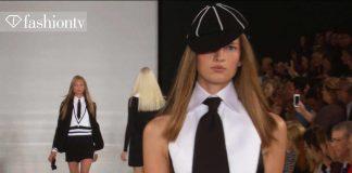 Ralph Lauren Wiosna/Lato 2014 ft Karlie Kloss  MB New York Fashion Week