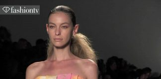 Son Jung Wan Wiosna/Lato 2014 Show  New York Fashion Week