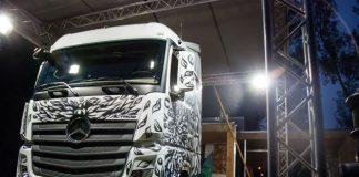 """""""Truck & Art"""" W Stacji Mercedes czyli Nowy Actros a'la Swanski 3"""