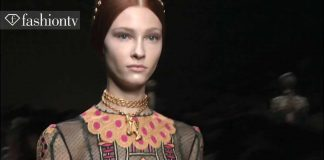 Valentino Wiosna 2014 ft Cara Delevingne Paris Fashion Week