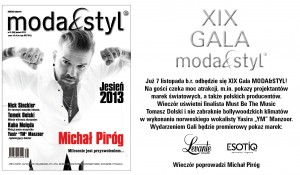 Zapraszamy na modowe święto sezonu – XIX Galę Moda&Styl!