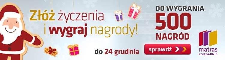 Konkursy News  Czytelnicy matras.pl polecają na prezent i wygrywają w świątecznym konkursie