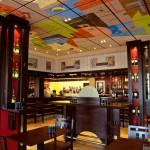 Design  Tak smakuje cisza - Aranżacja restauracji przy pomocy płyt marki Heradesign
