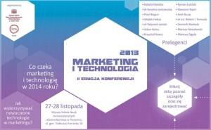News  Marketing i Technologia 2013 -  Konferencja już za dwa tygodnie