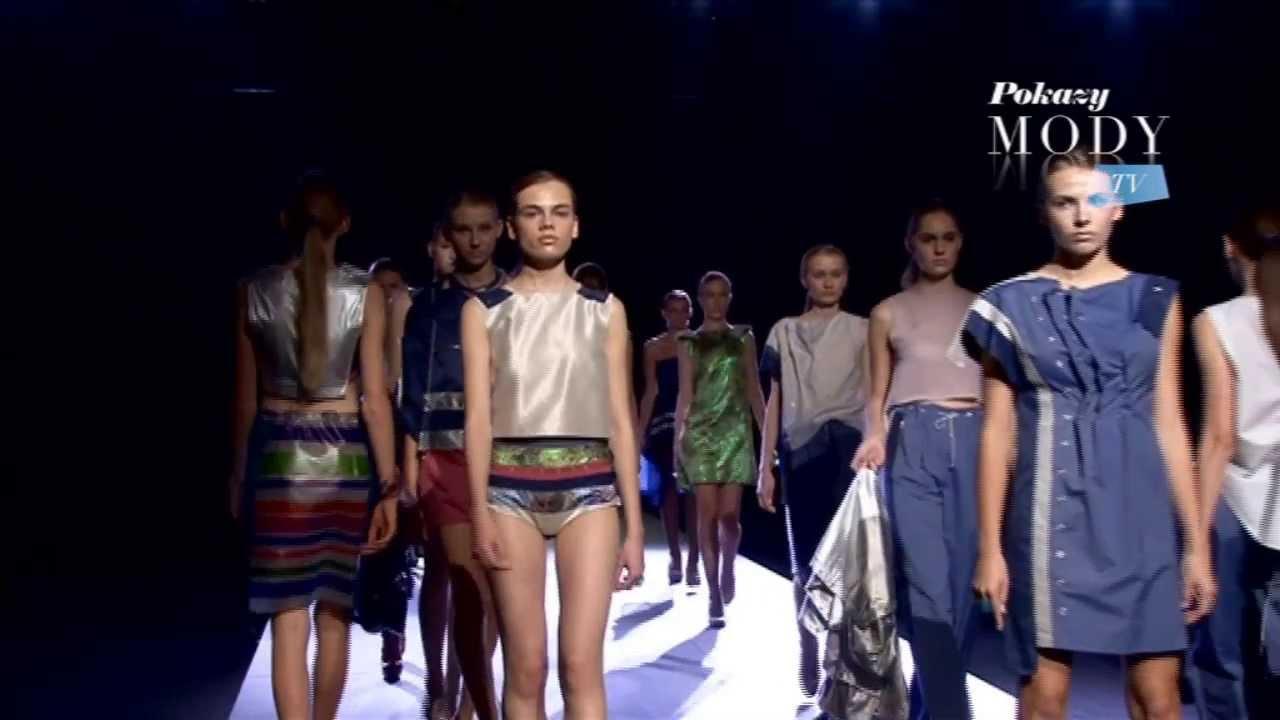 MONIKA BŁOTNICKA - wiosna lato 2014 | 9. Fashion Week Poland 2013