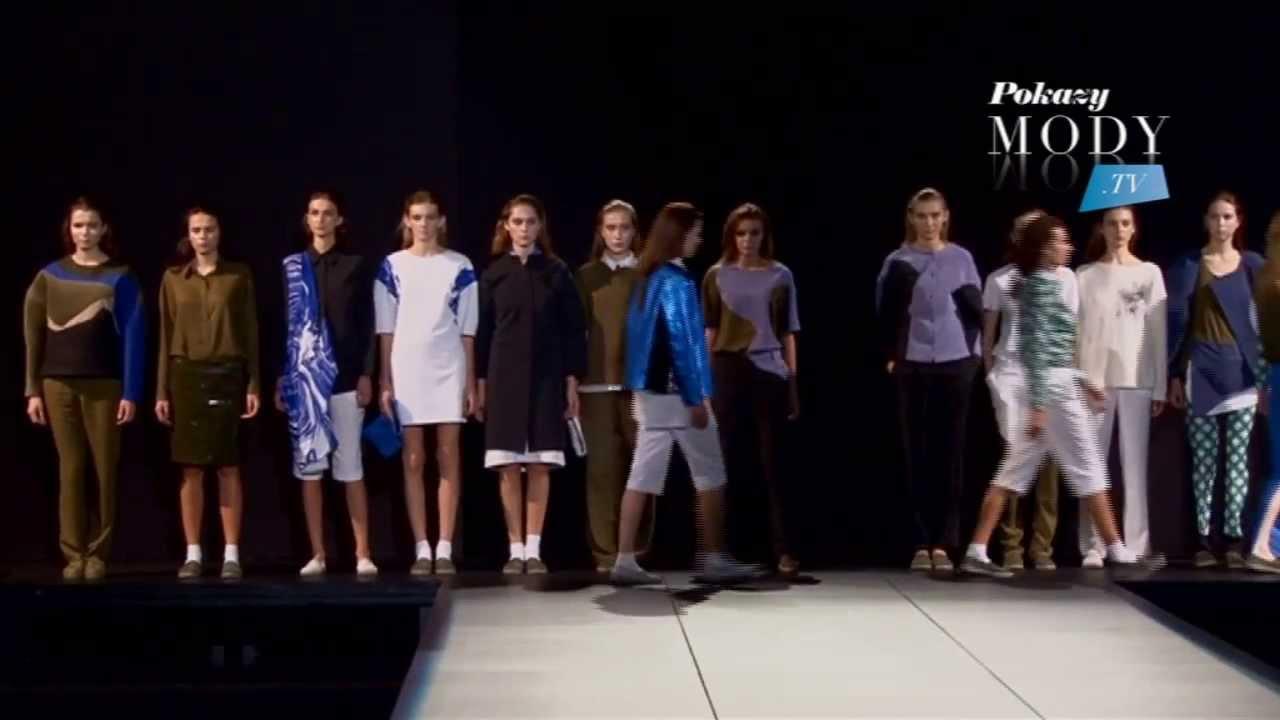 PAULINA MATUSZELAŃSKA - wiosna lato 2014 | 9. Fashion Week Poland 2013