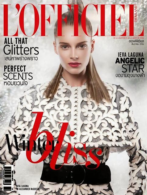 Polska moda w grudniowym L'Officiel Thailand 1