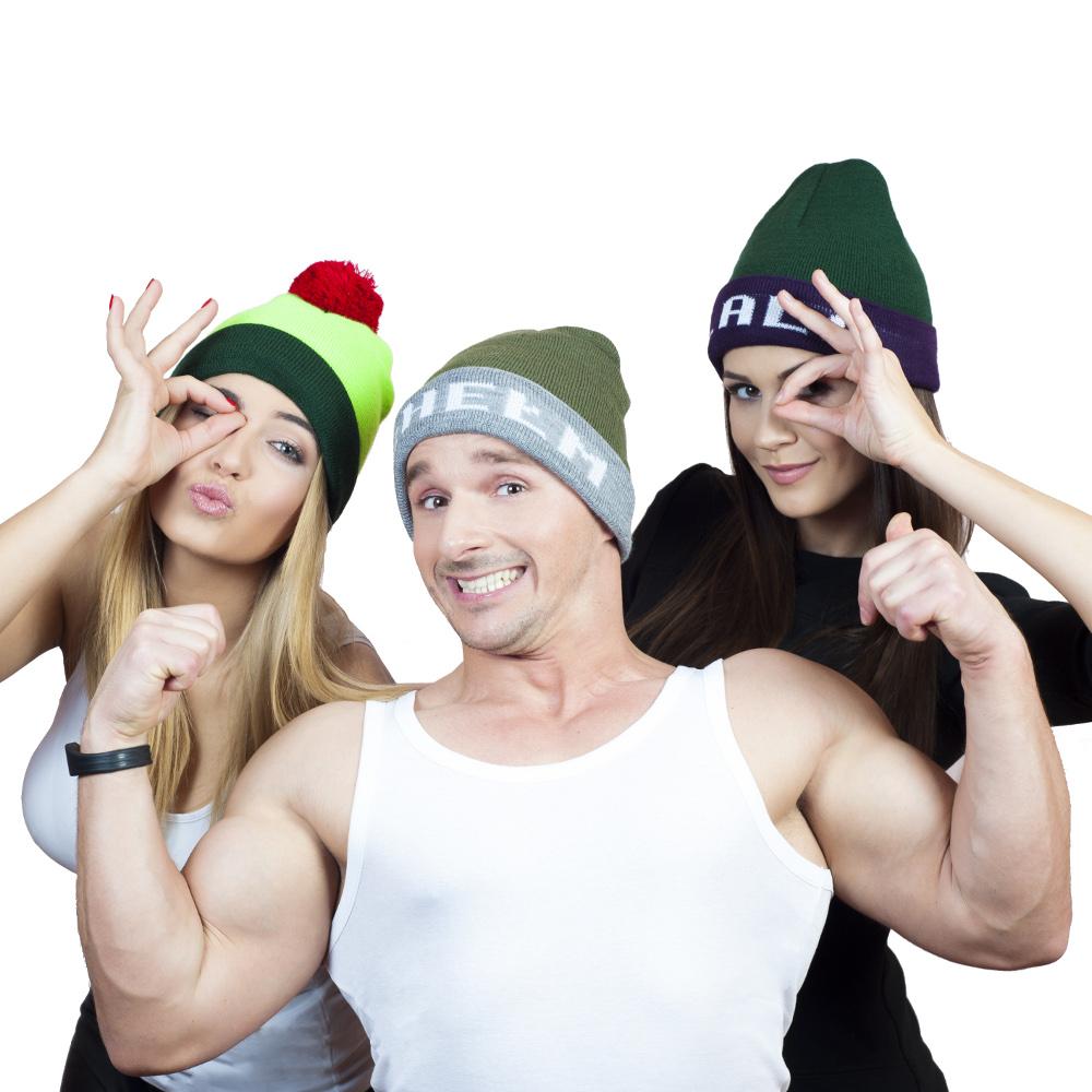 Akcesoria News Shopping  Zimowe czapy odCZAPY