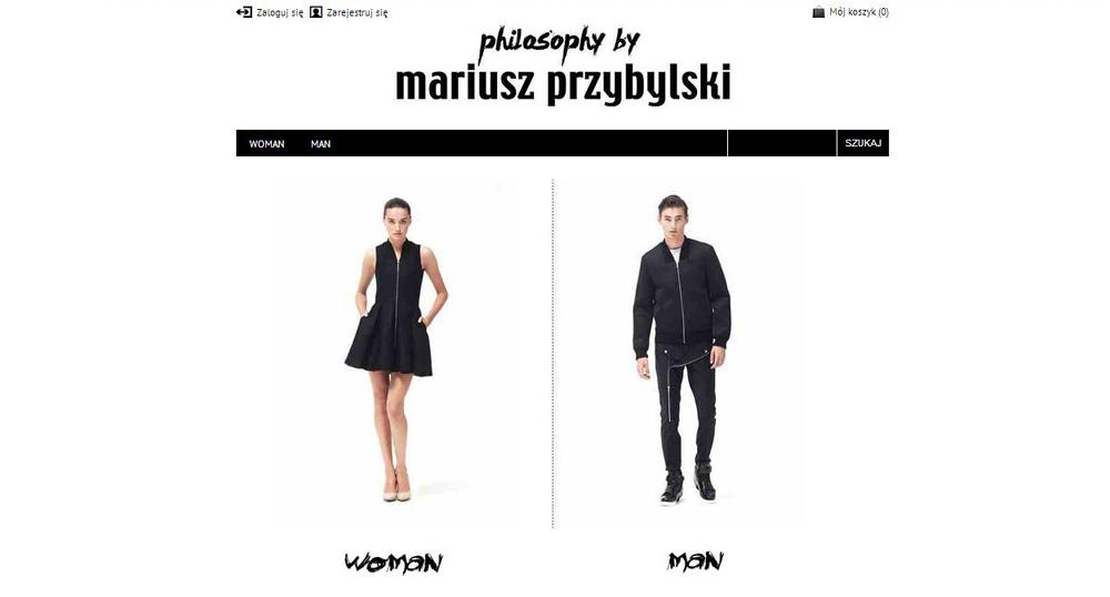 Shopping  Kolekcje Mariusza Przybylskiego dostępne on-line