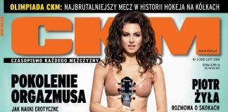 CKM - Luty 2014 - Na okładce piosenkarka Kasia Nova