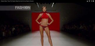 """Beachwear Fashion Show """"Triya"""" Rio Fashion Week Lato 2014"""