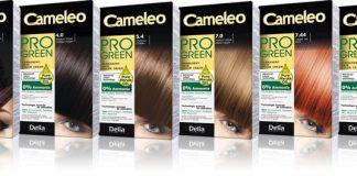 NOWOŚĆ – koloryzujący krem do włosów z olejem marula  Cameleo Pro Green 14