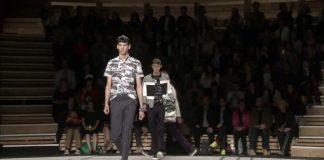 """""""KENZO"""" Wiosna/Lato 2014 Menswear Paris"""