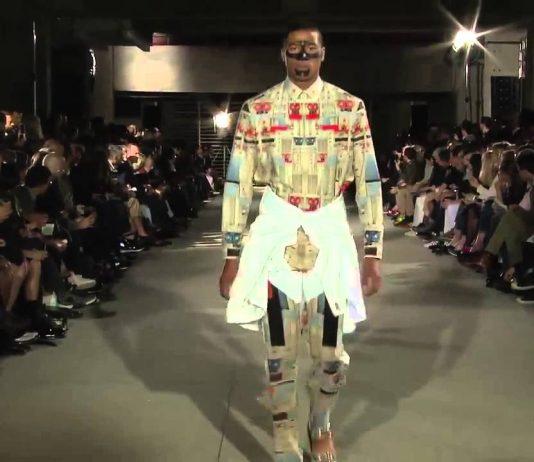 GIVENCHY Wiosna/Lato 2014 Menswear