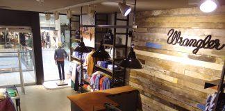 Wrangler: pierwszy samodzielny salon marki Wrangler w tej części Europy!