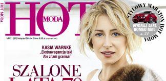 Listopadowy numer magazynu HOT Moda