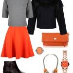 Stylizacje  Moda w kolorach jesieni