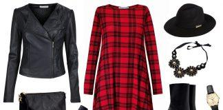 Sukienka w kratę na 3 sposoby! 1