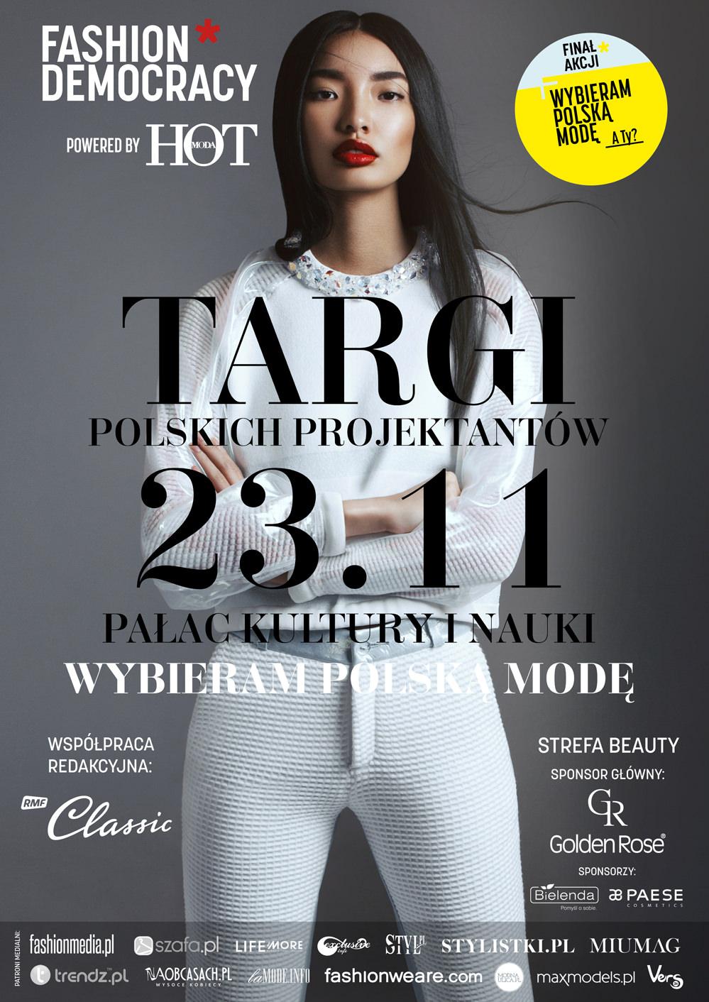 """Wydarzenia  Wielkie targi """"Wybieram Polską Modę"""" w Pałacu Kultury i Nauki"""