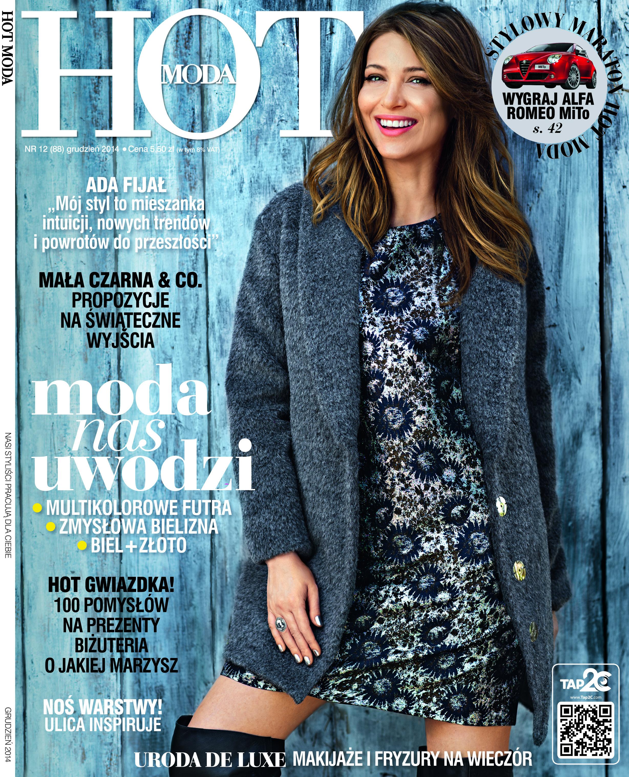 Grudniowy numer magazynu HOT Moda
