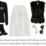 Stylizacje  Jesień w kolorach black&white