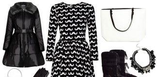 Jesień w kolorach black&white 3