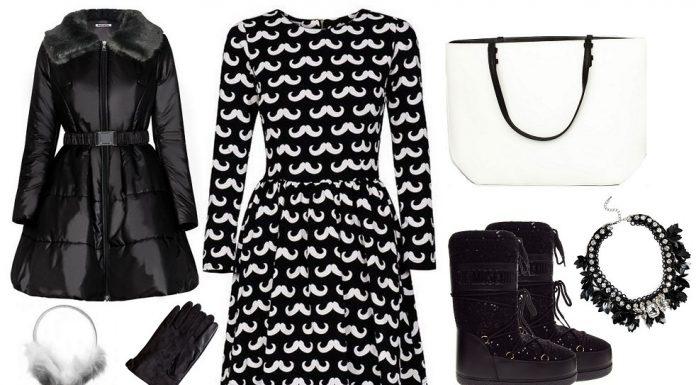 Jesień w kolorach black&white