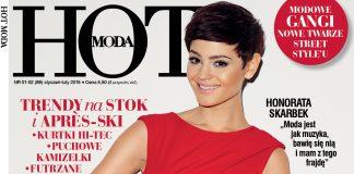 Styczniowo-lutowy numer magazynu HOT Moda 1