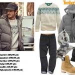 Moda Męska  Ciepła męska zima z Timberland