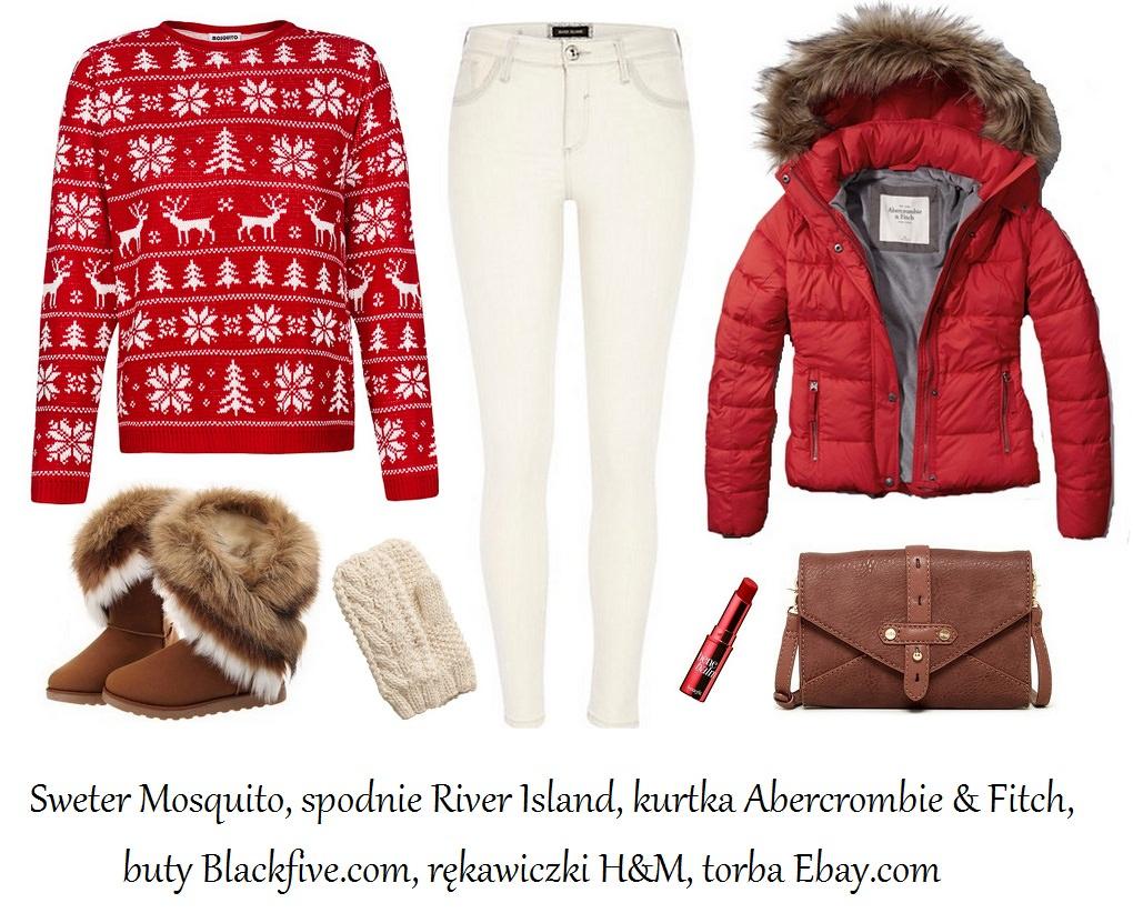 Stylizacje  Zimowe stylizacje w świątecznym klimacie