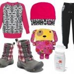 Moda dziecięca  Kolorowe otulanie na ferie