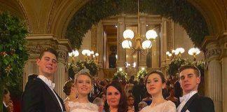 Bal Debiutantek w Operze Wiedeńskiej 1