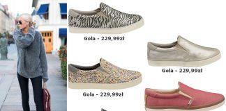 Trampki Slip On od Wrangler Footwear, Le Coq Sportif i Gola 1