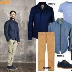 Stylizacje  Męska moda na wiosnę 2015 według Timberland