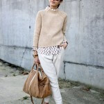 Moda Damska  Beż i biel