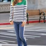 Moda Damska  bonprix – kolekcja  Dots & Stripes