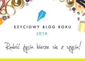 News  Konkurs na Szyciowy Blog Roku – rozstrzygnięty !